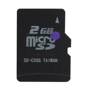 Cartão de Memória Micro SD 2GB - Paralelo