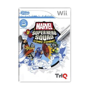 Jogo Marvel Superhero Squad: Comic Combat - Wii