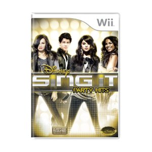 Jogo Disney Sing It: Party Hits - Wii