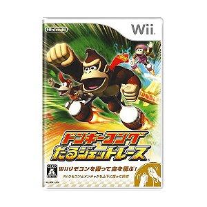 Jogo Donkey Kong Barrel Blast - Wii (Japonês)