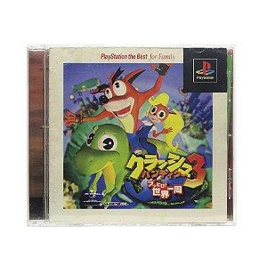 Jogo Crash Bandicoot 3: Warped - PS1 (Japonês)