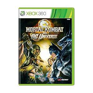 Jogo Mortal Kombat Vs. DC Universe - Xbox 360