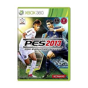Jogo Pro Evolution Soccer 2013 - Xbox 360