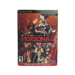 Jogo Shin Megami Tensei Persona 2: Innocent Sin + Mini Soundtrack - PSP