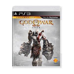 Jogo God of War: Saga (3 Jogos) - PS3