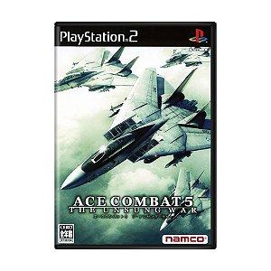 Jogo Ace Combat 5: The Unsung War - PS2 (Japonês)
