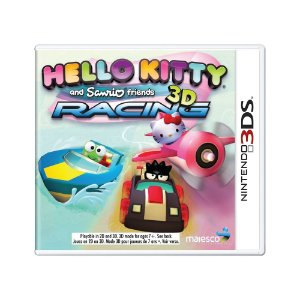 Jogo Hello Kitty and Sanrio Friends 3D Racing - 3DS