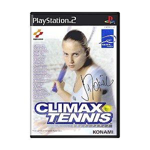 Jogo Climax Tennis: WTA Tour Edition - PS2 (Japonês)