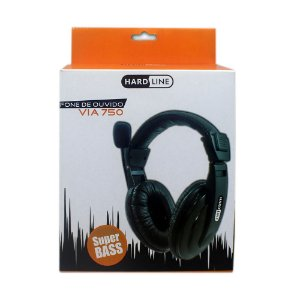 Headset Hi-fi Super Bass Via-750 - PC