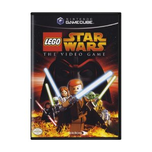 Jogo LEGO Star Wars: The Video Game - GameCube