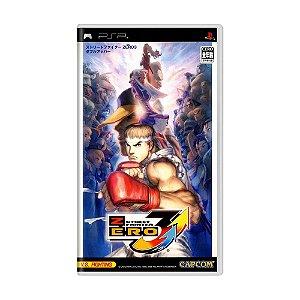 Jogo Street Fighter Zero 3 Double Upper - PSP
