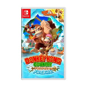 Jogo Donkey Kong Country: Tropical Freeze - Switch