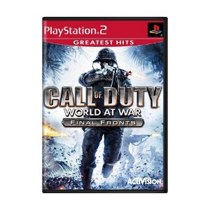 Jogo Call of Duty: World at War Final Fronts - PS2