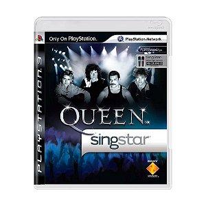 Jogo Singstar Queen - PS3