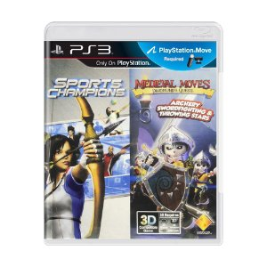 Jogo Sports Champions + Medieval Moves - PS3
