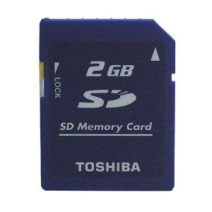 Cartão de Memória 2GB SD - Toshiba