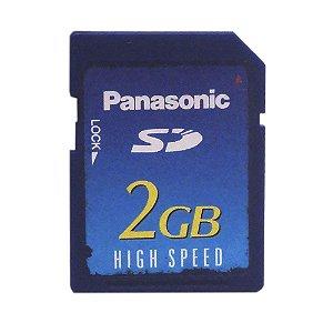 Cartão de Memória 2GB SD - Panasonic