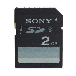 Cartão de Memória 2GB SD - Sony