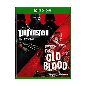 Jogo Wolfenstein: The Old Blood + Wolfenstein: The New Order - Xbox One