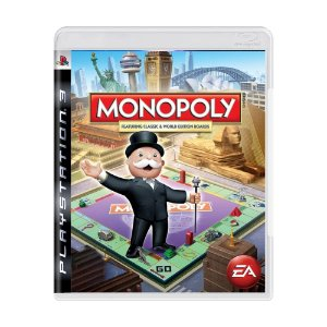 Jogo Monopoly featuring Classic & World Edition Boards - PS3