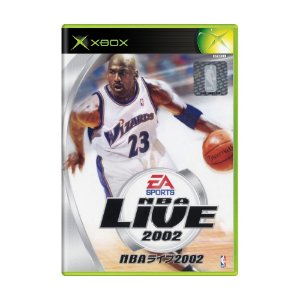 Jogo NBA Live 2002 - Xbox (Japonês)