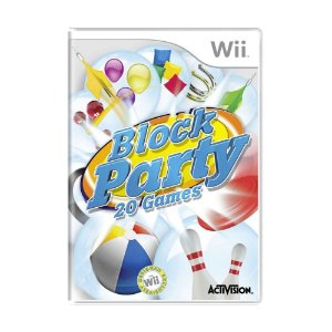 Jogo Block Party: 20 Games - Wii