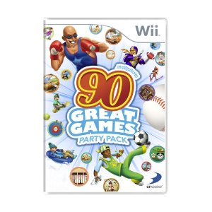 Jogo Family Party: 90 Great Games Party Pack - Wii