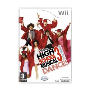 Jogo High School Musical 3: Dance Senior Year - Wii (Europeu)