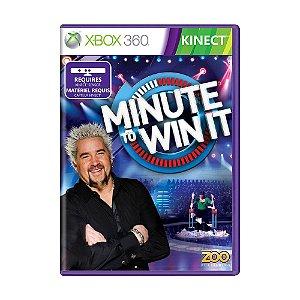 Jogo Minute To Win It - Xbox 360