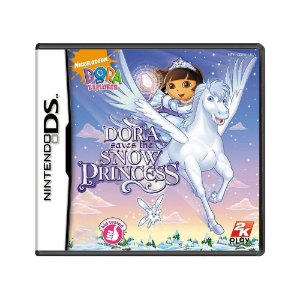 Jogo Dora the Explorer: Dora Saves the Snow Princess - DS