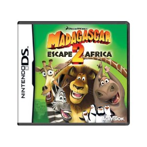 Jogo Madagascar: Escape 2 Africa - PS2 (Europeu)