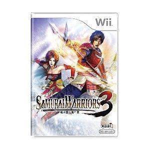 Jogo Samurai Warriors 3 - Wii
