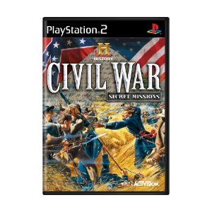 Jogo The History Channel: Civil War Secret Missions - PS2