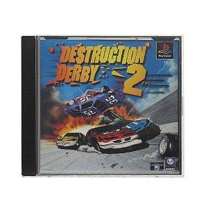 Jogo Destruction Derby 2 - PS1 (Japonês)