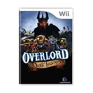 Jogo Overlord: Dark Legend - Wii