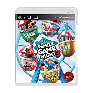 Jogo Hasbro Family Game Night 3 - PS3