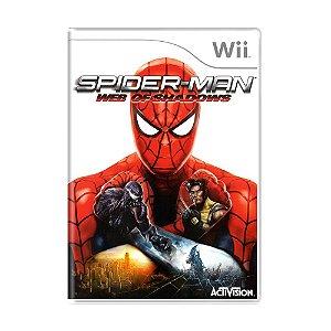 Jogo Spider-Man: Web of Shadows - Wii