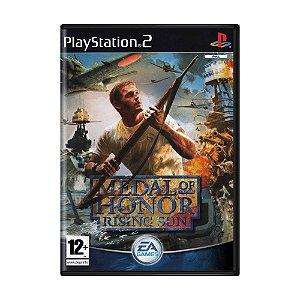 Jogo Medal of Honor: Rising Sun - PS2 (Europeu)