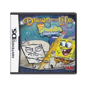 Jogo Drawn to Life: SpongeBob SquarePants Edition - DS