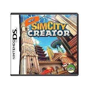 Jogo SimCity Creator - DS
