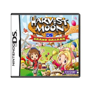 Jogo Harvest Moon DS: Grand Bazaar - DS