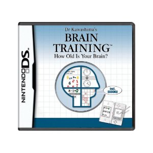 Jogo Dr Kawashima's Brain Training: How Old Is Your Brain?  - DS (Europeu)