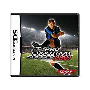 Jogo Pro Evolution Soccer 2007 - DS
