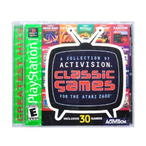 Jogo A Collection of Activision Classic Games for the Atari 2600 - PS1