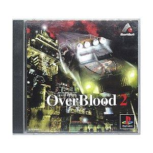 Jogo OverBlood 2 - PS1 (Japonês)