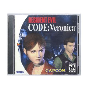 Jogo Resident Evil Code: Veronica - DreamCast
