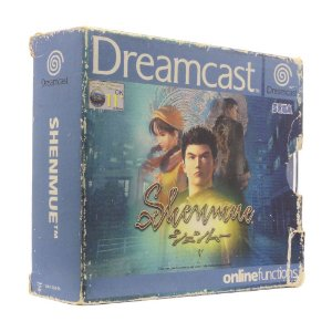 Jogo Shenmue (Limited Edition) - DreamCast (Europeu)