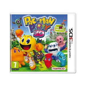 Jogo Pac-Man Party 3D - 3DS (Europeu)