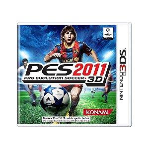 Jogo Pro Evolution Soccer 2011 3D - 3DS