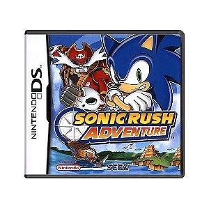 Jogo Sonic Rush Adventure - DS